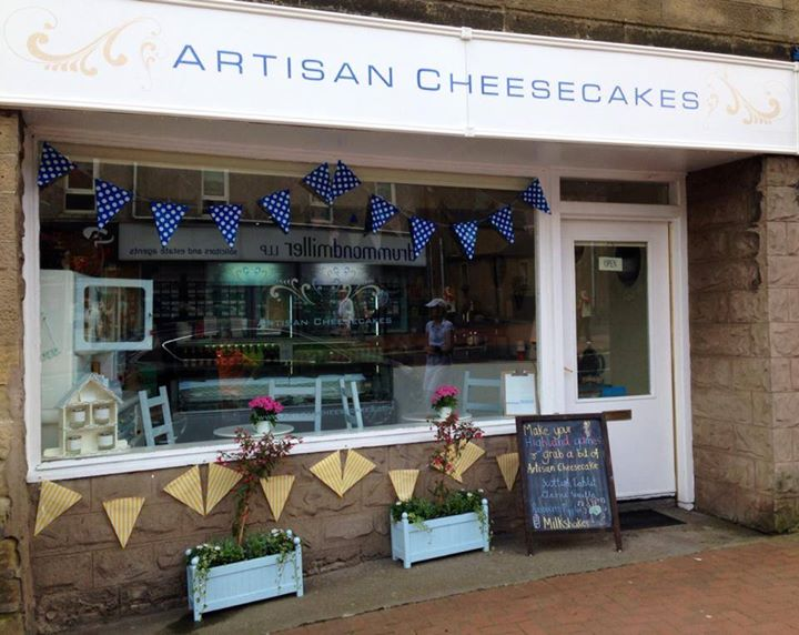 Artisan Cheesecakes Bathgate Shop