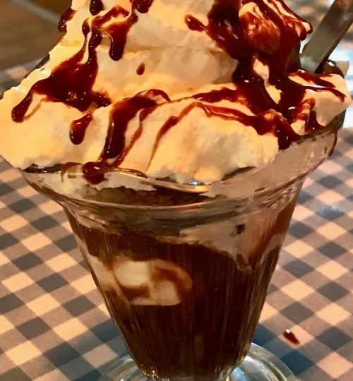 chocolate sundae