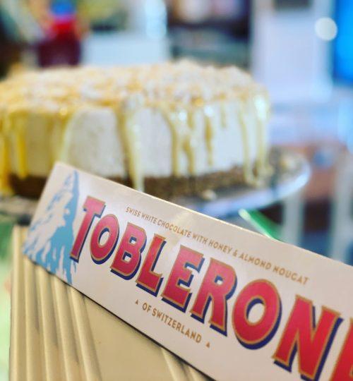 white choc toblerone